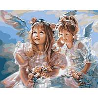 Картина по номерам Ангелочки, 40x50 см., Babylon