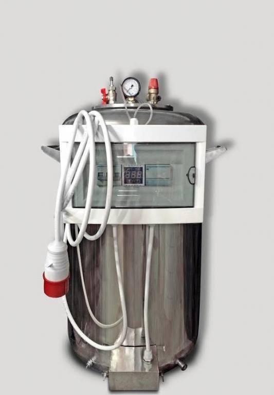 """Автоклав промисловий """"А100 Пром"""" (380В) + Водяне охолодження"""