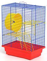 """Клітка для хом'яка триповерхова """"Дім""""(280х180х320), фото 1"""