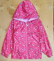 Детская куртка-ветровка 5-8 лет для девочек Турция оптом