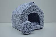 Домик для собак и котов Зоо бязь №0 260х270х270 мм, фото 1