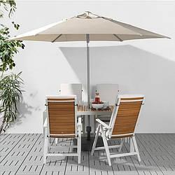 Зонт для кафе или сада  в расыветках, 3м