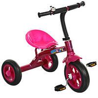 Велосипед трехколесный Profi Kids M3252 розовый, фото 1