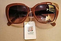 Женские солнцезащитные ретро очки., фото 1