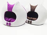 Домик будка для кошек и собак Cat №1 33х43х40 см, фото 1