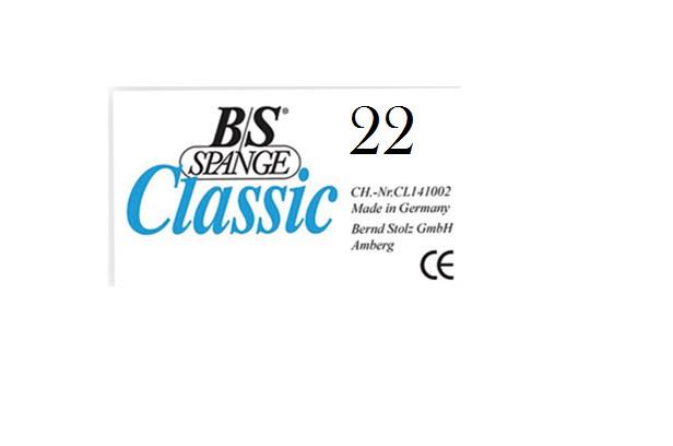 Пластины для вросшего ногтя B/S SPANGE 10 шт.№ 22