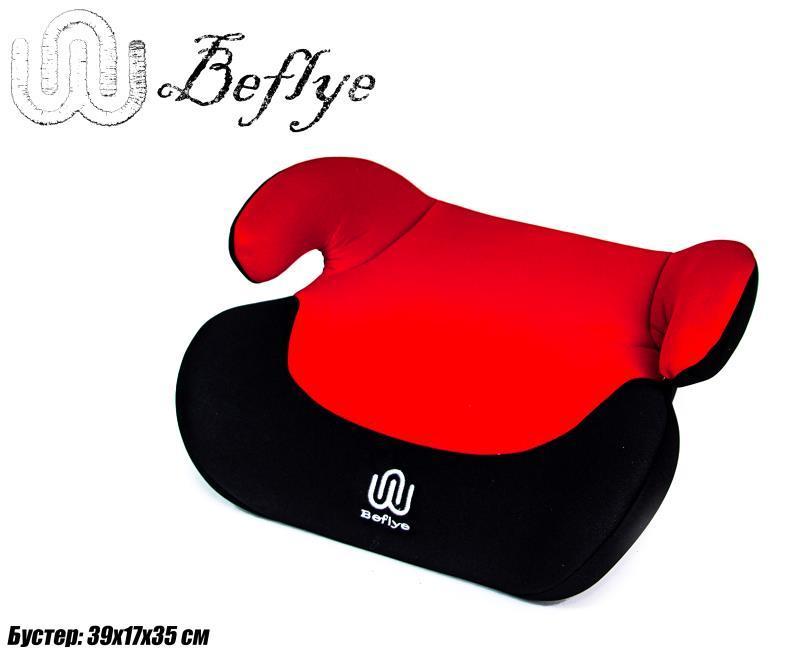 Автокресло Бустер BeFlye (15-36 кг) Красный