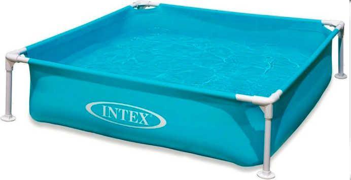 Intex Бассейн каркасный 57173 (3) размером 122х122х30 см, объём: 337л, вес: 4,9кг, от 3 лет