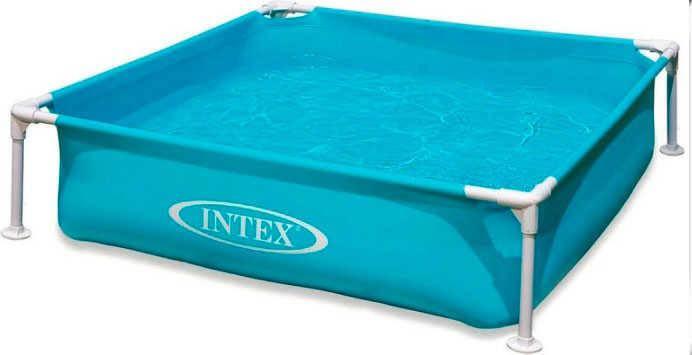 Intex Бассейн каркасный 57173 (3) размером 122х122х30 см, объём: 337л, вес: 4,9кг, от 3 лет, фото 2