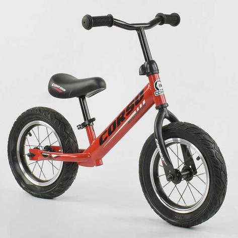 """Велобег """"CORSO"""" 71860 (1) стальная рама, колесо 12"""" надувные колёса , фото 2"""