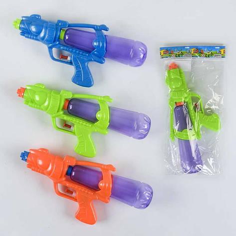 Водный пистолет 620-1 (360/2) 3 вида, в кульке, фото 2