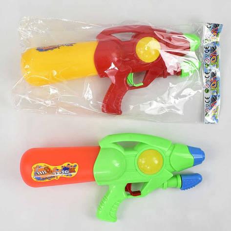 Водный пистолет 920-10 (72/2) с насосом, 2 цвета, в кульке, фото 2