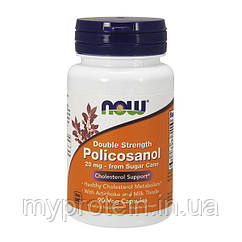 NOWснижение холестеринаPolicosanol 10 mg90 veg caps