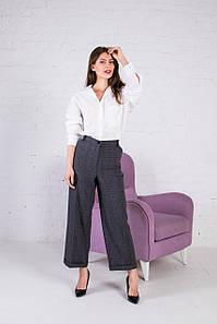 Женские брюки кюлоты Барселона серые