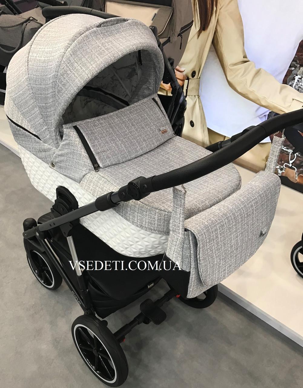 Детская универсальная коляска 2 в 1 Riko Side 3D 01