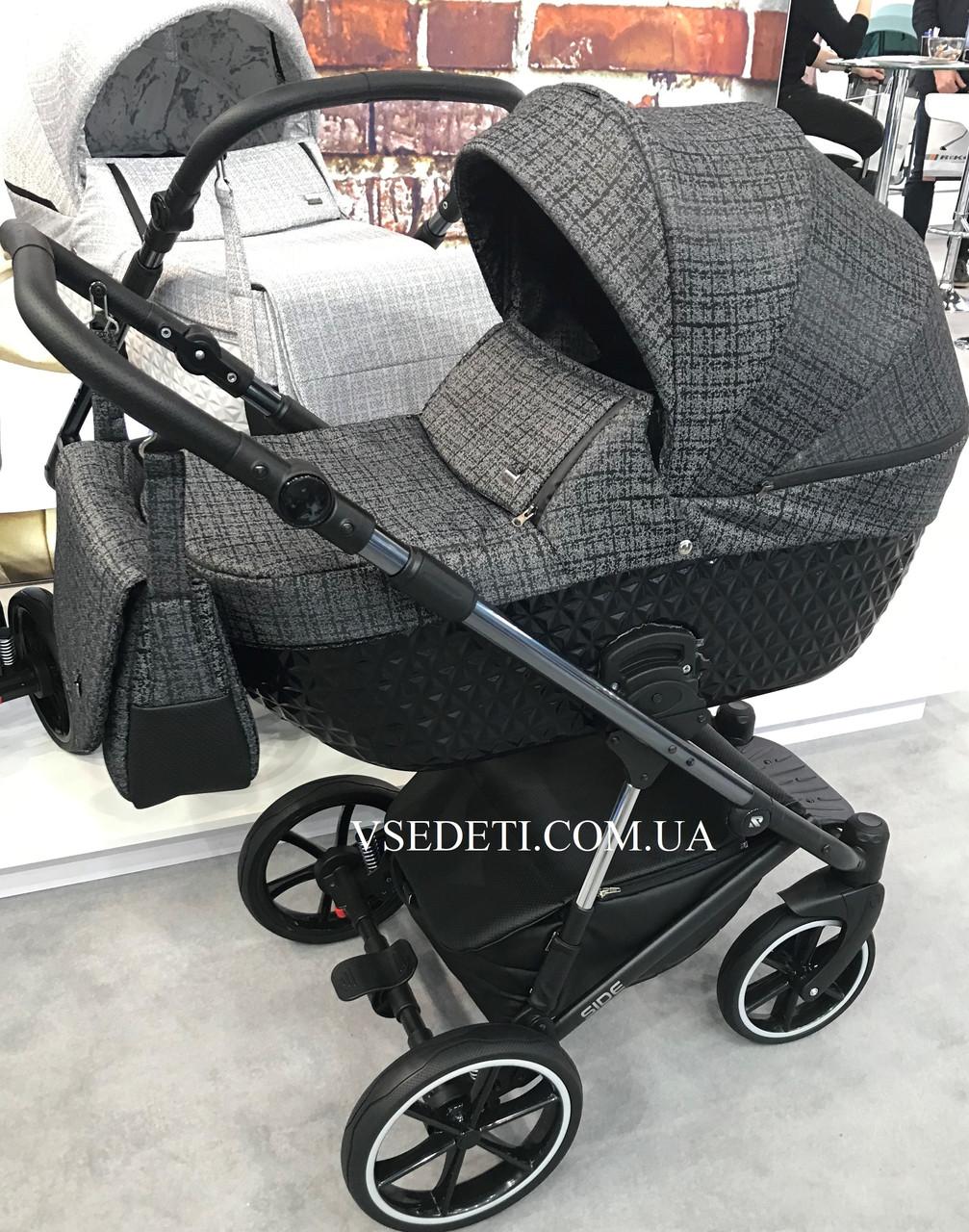 Детская универсальная коляска 2 в 1 Riko Side 3D 02