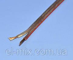 Кабель акустический медный прозрачный 2х2,50мм кв. Cabletech KAB0325
