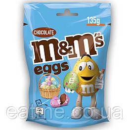 M&m's eggs chocolate Шоколадное драже в глазури в виде яиц 135g