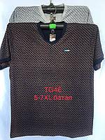 Футболка чоловіча TG4E великий розмір мікс кольорів Китай оптом
