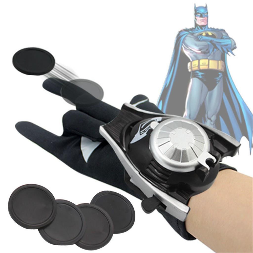 Перчатка - оружие Бэтмена с вылетающими дисками - Batman glove