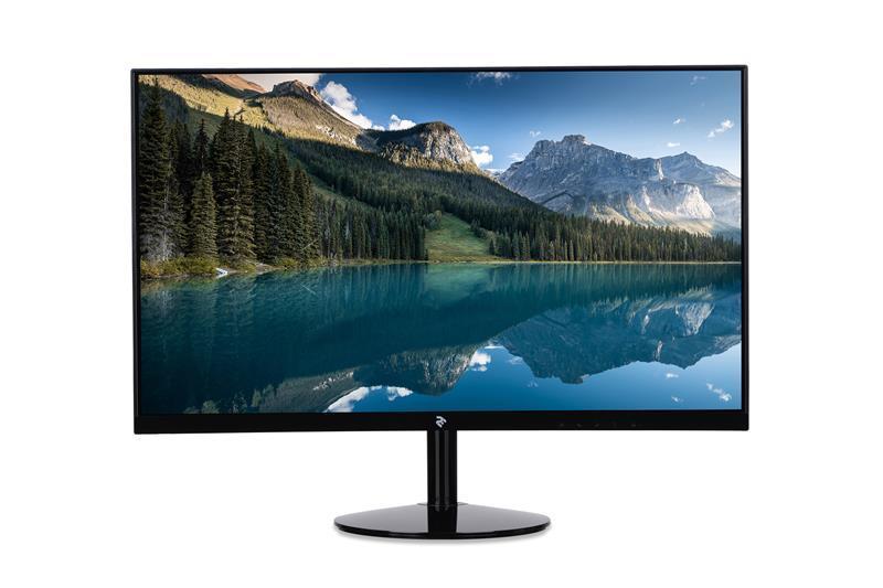 Монитор 2E 23.6 H2419B (2E-H2419B-01.UA) VA Black Curved, 1920x1080, 250 кд/м2, 8 мс, D-Sub, HDMI