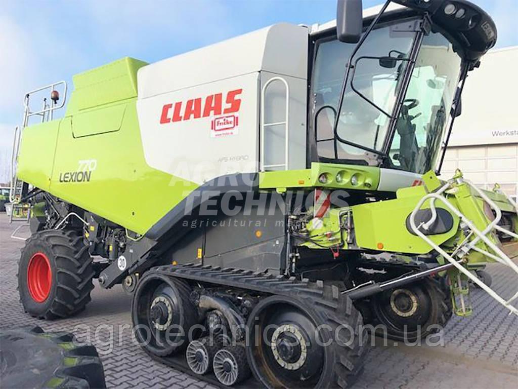 Комбайн CLAAS LEXION 770 TT 2011 року