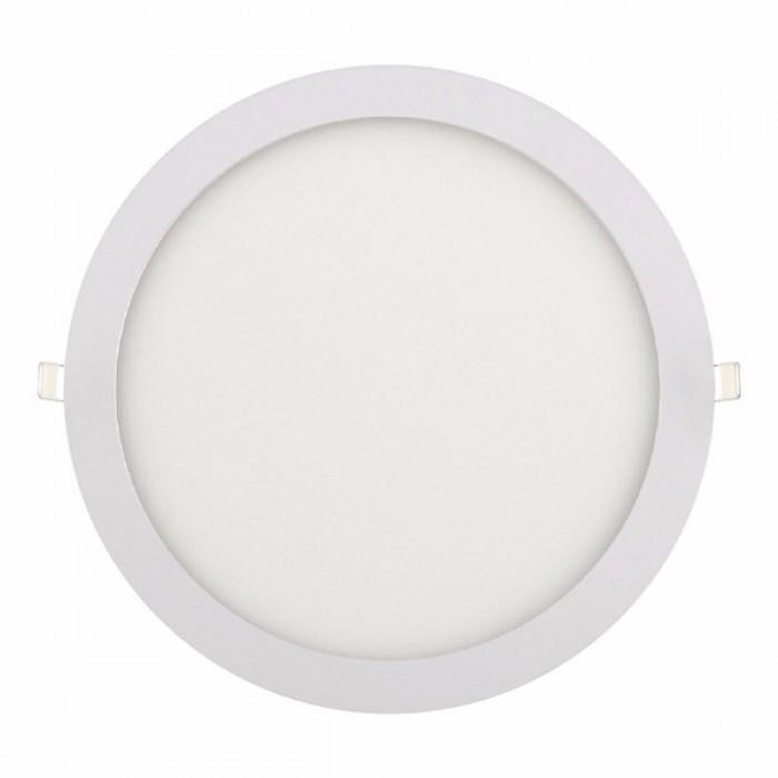 Светодиодный светильник 24W круг врезной 4200K Horoz Slim-24