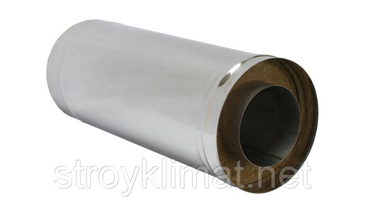 Дымоход н/оц  ф180/ ф250 0,8мм, фото 2