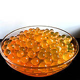 Гидрогель Аквагрунт Шарики Орбиз 10 г. желтый, фото 2
