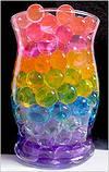 Гидрогель Аквагрунт Шарики Орбиз 10 г. желтый, фото 6