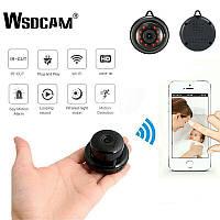 Охранная мини Wi-Fi  IP-камера Wsdcam E06. Ночное видение. IR. Датчик движения.V380