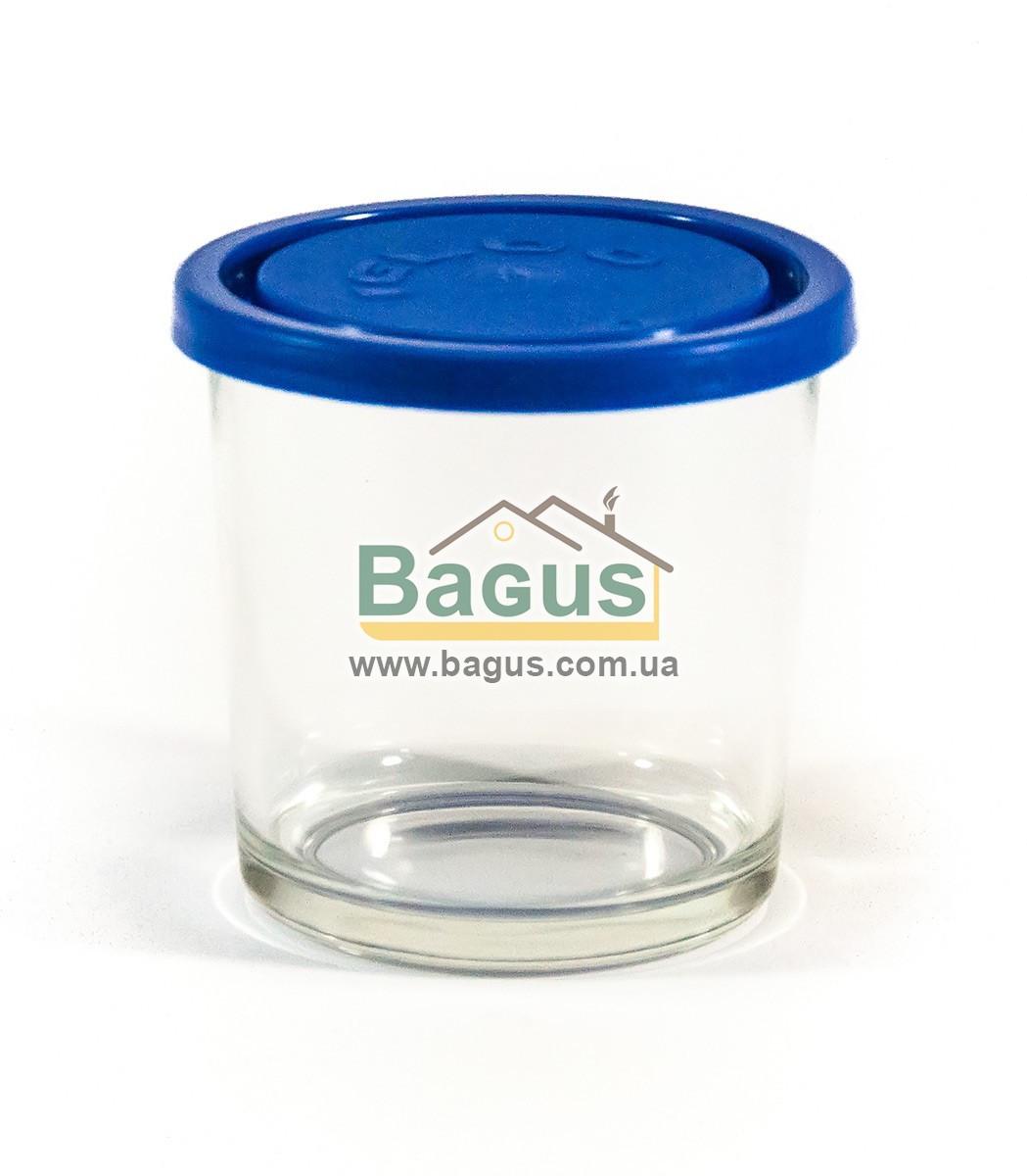"""Ємність (відро, стакан) для продуктів 0,4 л кругла скляна з кришкою """"Igloo"""" Borgonovo 17115427"""