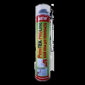 Пена-клей полиуритановая PENOTEK GUN+straw 750 мл