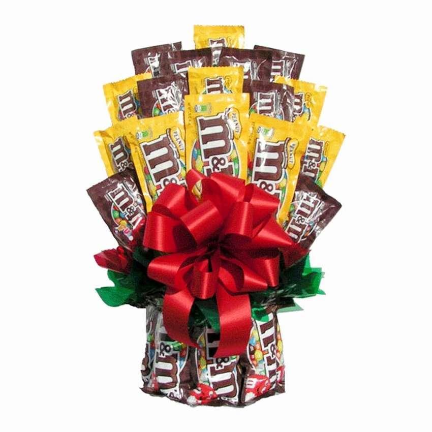 Букети з цукерок Мем вітальний подарунковий