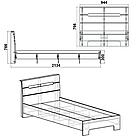 Кровать Стиль-90 Компанит Нимфея Альба, фото 2
