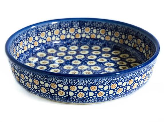 Керамическая форма круглая для выпечки и запекания 24 Морские камушки, фото 2