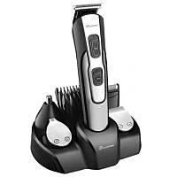 Машинка для стрижки GEMEI GM-592 10 в 1, Универсальная машинка для стрижки, Триммер для носа и ушей, бороды! Акция