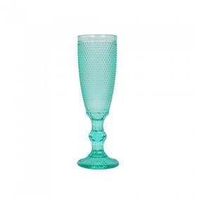 Бокал под шампанское Orleans бирюза SKL11-223176