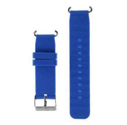Ремешок для умных часов Q100 Голубой, фото 2
