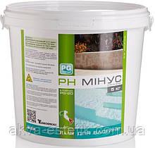 BARCHEMICALS pH мінус 5кг (Італія)