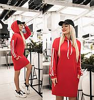 Женская туника с капюшоном.Размеры:42-46.+Цвета