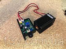 Лазерный модуль  Blue 500mw 445nm ( лазерный модуль ) запчасть для замены