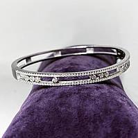 Браслет зі срібла 925 Beauty Bar в стилі Мессика з цирконами, фото 1