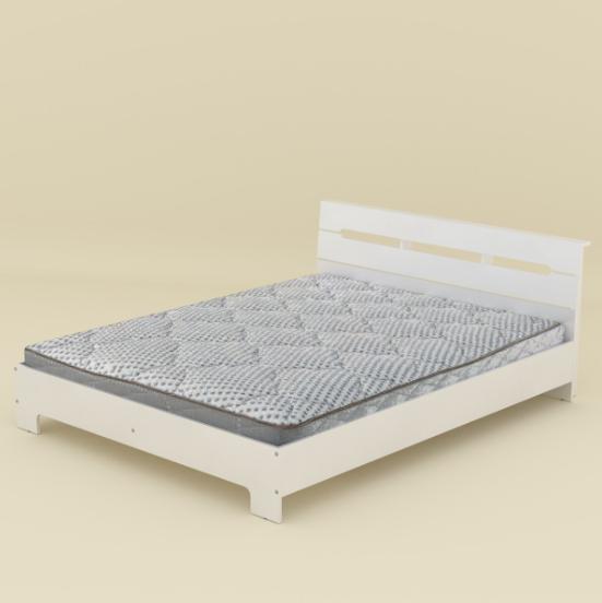 Кровать Стиль-160 Компанит Нимфея Альба
