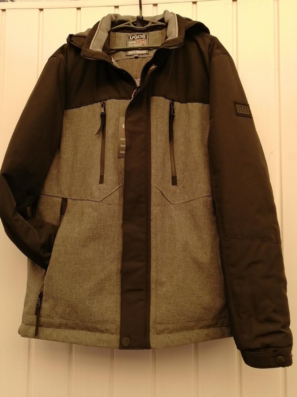 Оригинальная мужская куртка UGOS. Демисезоная р52