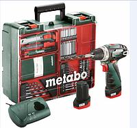Аккумуляторный шуруповерт Metabo PowerMaxx BS Basic Mobile Workshop 2x2 Ач (600080880)