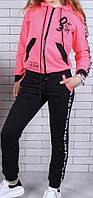 Подростковый спортивный костюм оптом 134-140-146-152-158-164 малина
