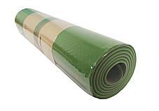 Йогамат універсальний / килимок для фітнесу універсальний (Помаранчевий), фото 3