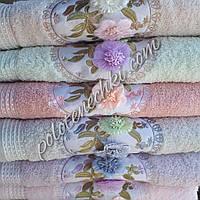 Махровое банное полотенце Фрезии, фото 1