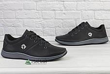 Кросівки чоловічі чорні 44р, фото 3